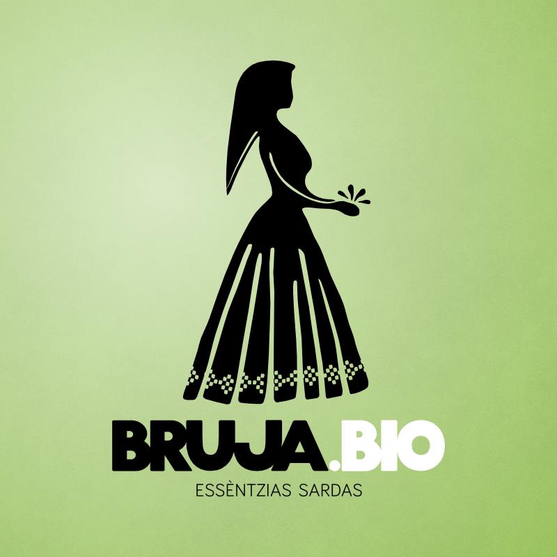 Logo di Bruja.bio. Oli essenziali e idrolati sardegna