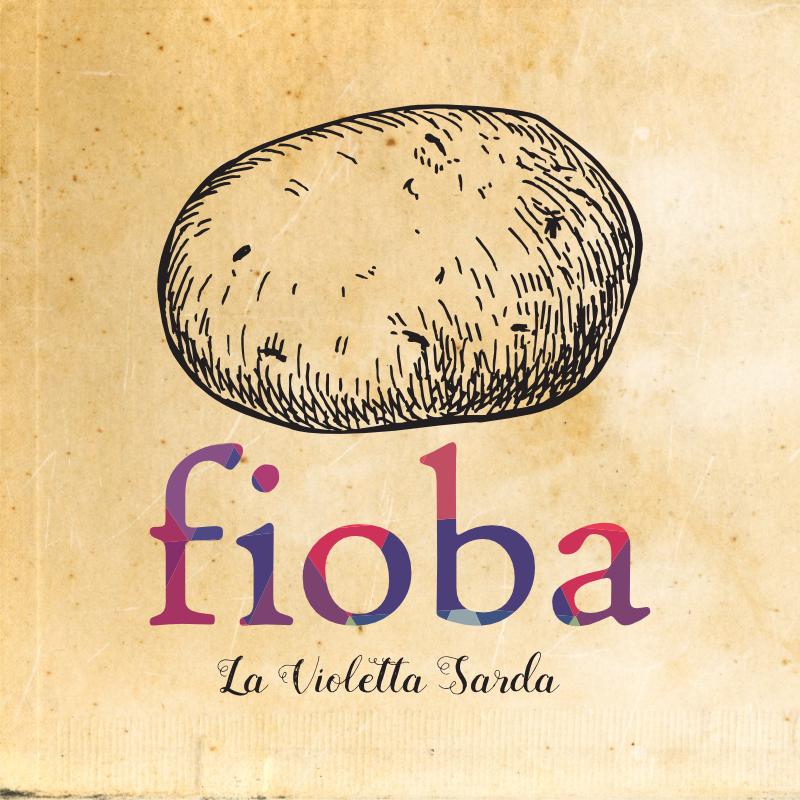 Logo di Fioba, patate viola sarde