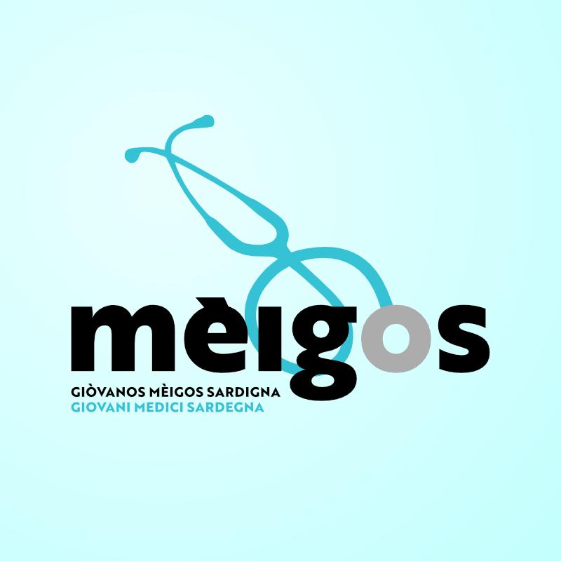 Logo di Mèigos, associazione dei giovani medici di Sardegna