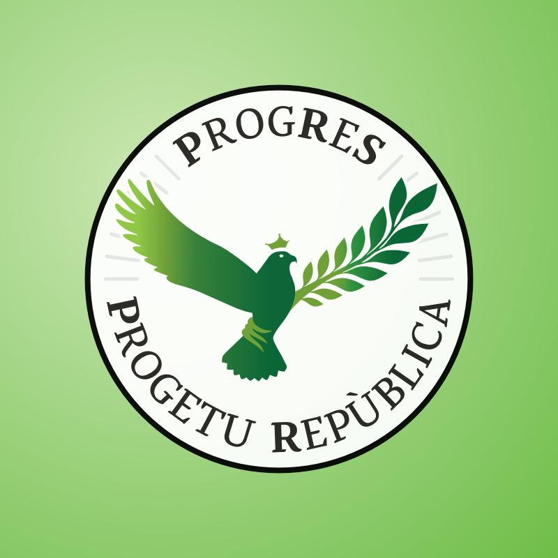 Ristilizzazione del simbolo elettorale di Progres Progetu Republica