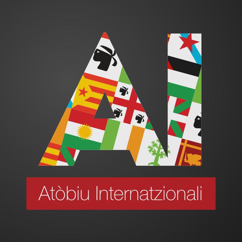 Logo per Atòbiu Internatzionali di Scida, giovani indipendentisti