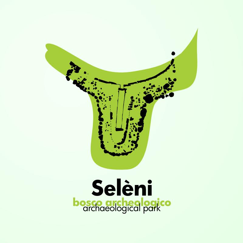 Logo per il bosco archeologico Seleni, Lanusei, Ogliastra