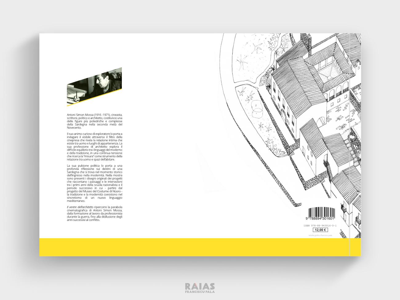 Quarta di copertina del catalogo della mostra
