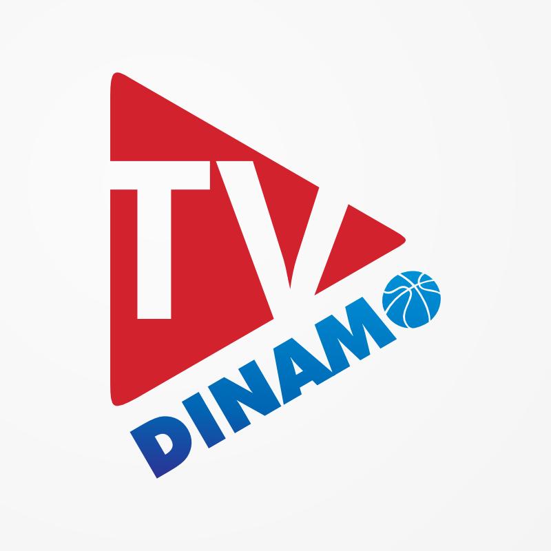 Logo per Dinamo TV, canale video online della Dinamo Banco di Sardegna Sassari, basket
