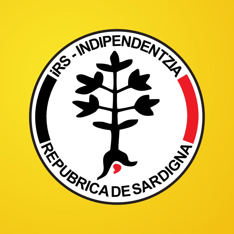 Simbolo elettorale di iRS - indipendèntzia Repùbrica de Sardigna