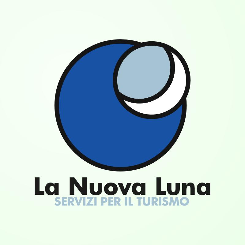 Logo La Nuova Luna, Lanusei, Ostello, Ogliastra