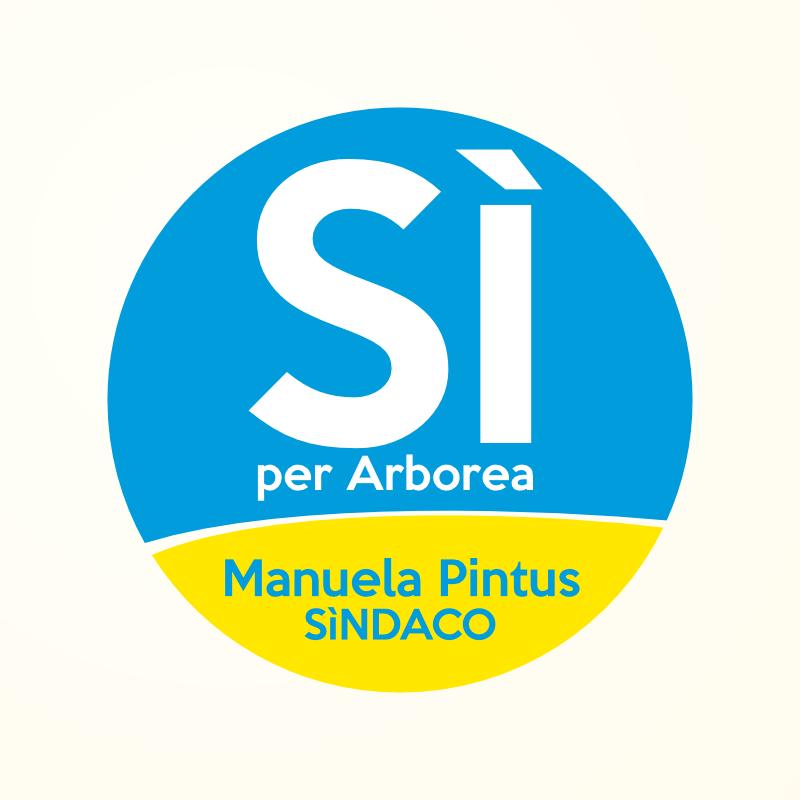 Simbolo elettorale Sì per Arborea per Manuela Pintus Sindaca
