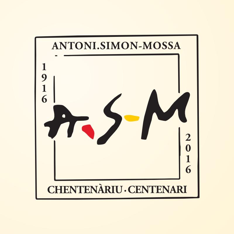 Logo per il centenario della nascita di Antoni Simon Mossa