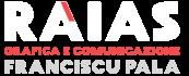 Logo Raias Grafica e Comunicazione di Franciscu Pala
